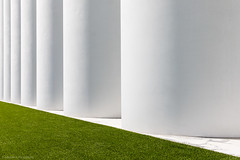 Shapes (maxmene70) Tags: canon architecture shapes light sun white grass figure travel industry 2470 architettura industriale astratto abstract