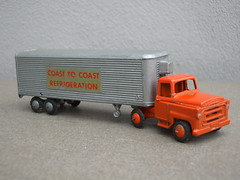 Vintage Budgie Toys Long Distance Coast to Coast Refrigeration Truck  1950's - 60's Toy (beetle2001cybergreen) Tags: vintage budgie toys long distance coast refrigeration truck 1950s 60s toy