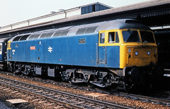 47 558, Reading, 23-08-83 (afc45014) Tags: 47558 class47 reading mayflower brush sulzer