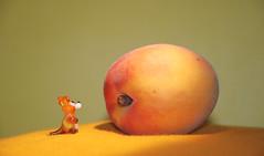 tiny toys (FMAG) Tags: smileonsaturday tinytoys glasstoy apricot 7dwf macro