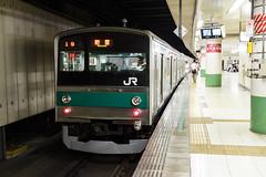 Saikyo Line 205 series 001 (A.S. Kevin N.V.M.M. Chung) Tags: train rail japan omiya jr