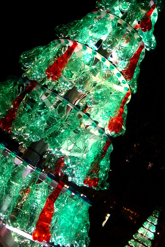 recycled xmas tree paris