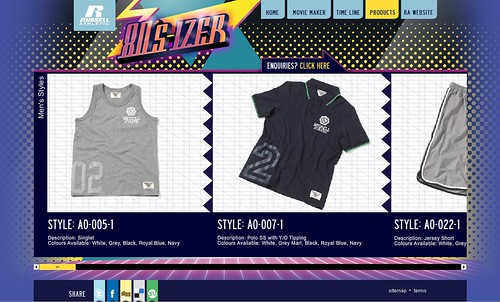 Russell Athletic 80s-izer viral movie maker - products