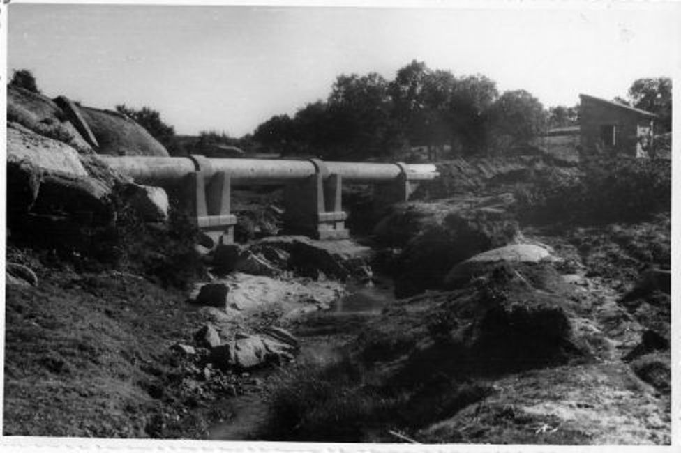 Canalización de las aguas del río Torcón a Toledo en 1948