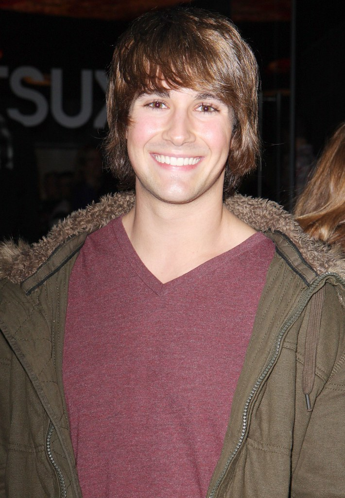"#4149929 Celebrities dine at Katsuya in Hollywood, CA on December 5, 2009. Pictured: James Marlowe of Nickelodeon's ""Big Time Crush"". Fame Pictures, Inc - Santa Monica, CA, USA - +1 (310) 395-0500"