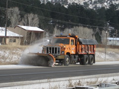 CDOT Snow Plow (zamboni-man) Tags: colorado wing transportation plow signal whelen fedral deparmtent