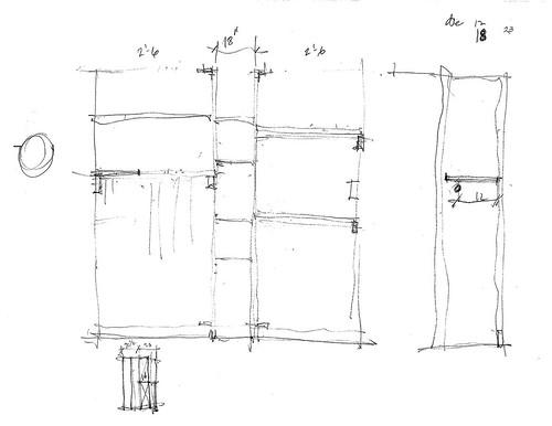 Closet sketch