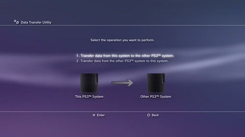 PS3 Data Transfer Utility