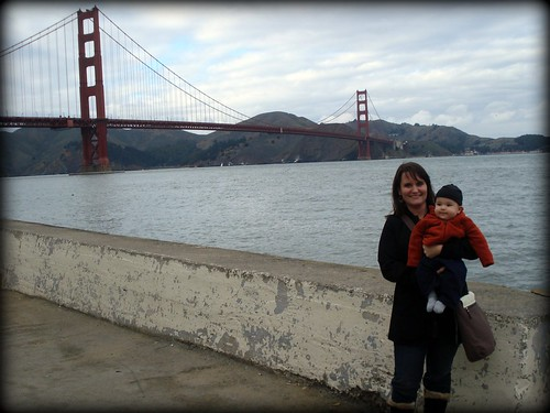 Everett and me Golden Gate