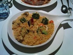 南瓜牛肉燉飯