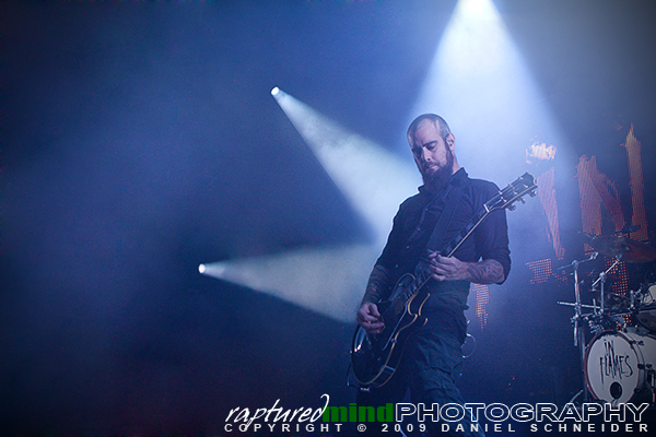 Björn Gelotte - In Flames - Live Music Photos - Oberhausen, Turbinenhalle - 09.12.2009