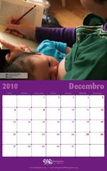 Calendario FEDEGALMA 2010 Decembro