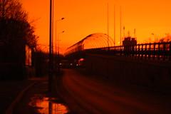 dopo la piaggia (Marta Boccalatte) Tags: line ponte luci rosso linee macchine filtri