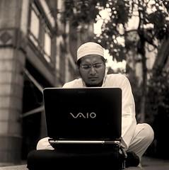 I have met Sufi-Suffian (khai_nomore) Tags: bw 120 tlr mediumformat klcc rm yashicamat wideopen ilfotecddx ilfordrapidfixer homedevelopment fujifilmneopanacros yashinon80mmf35 autaut 8minutes14 aggitate1mininterval 4minutesfixing