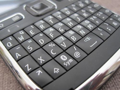 Nokia e72 keyboard