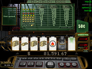IRIS 3000 slot game online review