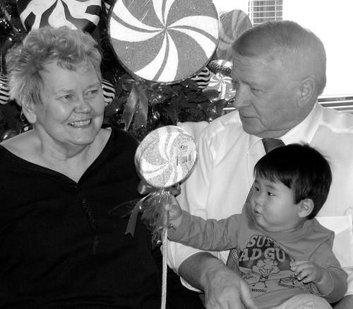 meeting great-grandma 2