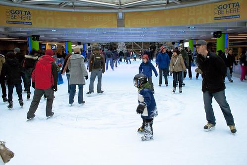 GE Plaza Ice Rink