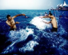 Biggest Splash of Summer2009 (Yasin Hassan  ) Tags: boy summer water tagged kuwait seashot bestof2009 yasinhassan summer2009 bestsplashof2009 seasonfun timesmart