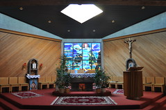 Altar of the Our Lady of the Cedars of Lebanon Maronite Catholic Church