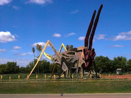 Enchanted Highway Grasshopper's Delight