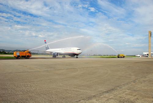 US Airways inaugurou seu voo para o Brasil – foto