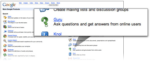 Ask questions and get answers from online users