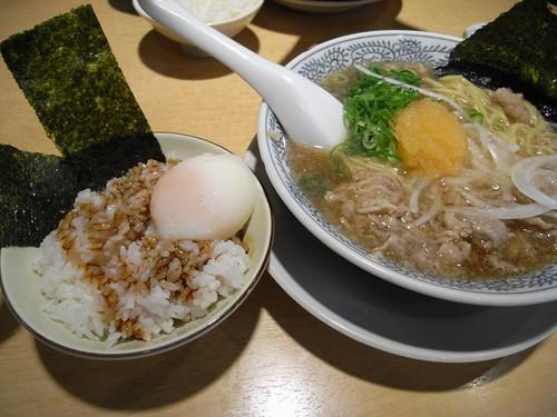 丸源ラーメン(二条大路店)@奈良市-10