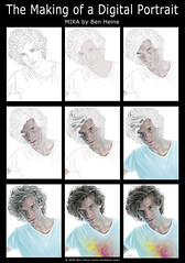 Making of - Mika (Ben Heine) Tags: uk boy wallpaper musician detail london texture colors rain youth hair print poster star la us eyes artist skin song modernart famous fame voice tshirt kitsch pop lips fanclub digitalpainting teen single singer expressive fans freedomofexpression lollipop pianist copyrights mika immortal makingof tutorial chanson realism songwriter stepbystep iseeyou toyboy gracekelly highres sucette fullquality loverboy universalmusic royalcollegeofmusic successstory lifeincartoonmotion billybrown casablancarecords wearegolden relaxtakeiteasy michaelholbrookpenniman grammynominated dodgyholiday theboywhoknewtoomuch britawardwinner allaardakov fuertegroup blameitonthegirls songsofsorrow lovetodaysoul infotheartisterycom