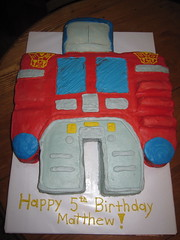 Optimus Prime birthday cake florence ky