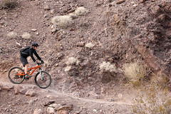 Mountain Biking at Bootleg Canyon