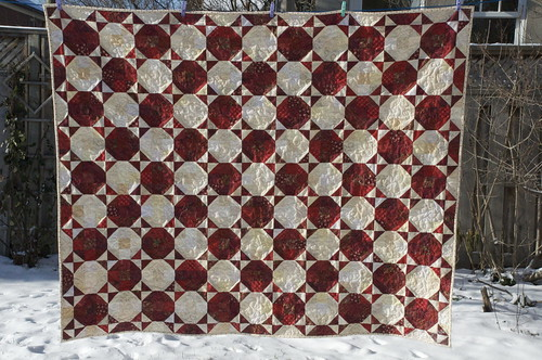 Red Hots quilt