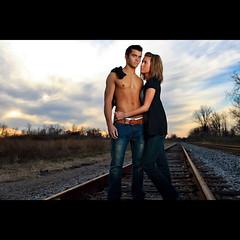 RailRoad Romance (~Phamster~) Tags: railroad canon couples 35l strobist 580exii 5dmkii phamster 28westcott