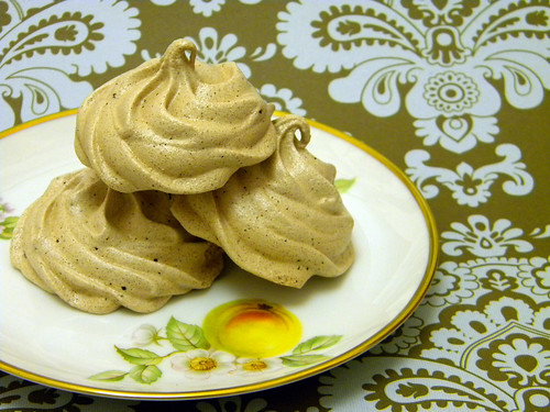 Cocoa Meringue Cookies