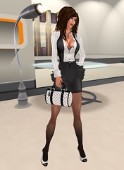 Strictly Business - 1 (:: Fayne Khandr ::) Tags: fashion truth avatar sl secondlife plus belleza sheer carolines insolence maitreya dcny pixeldolls veschi symphonyskins faynekhandr ks2cool