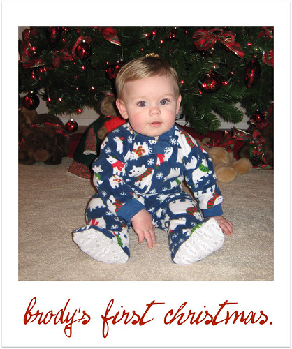 brodys first christmas