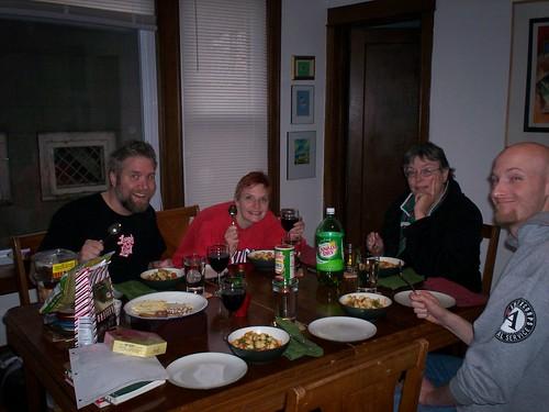 christmas dinner- yummy!