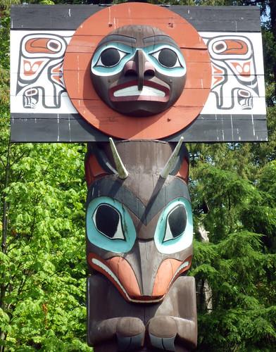 Stanley Park Totem Pole 1