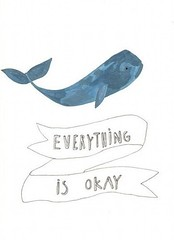 everything is okay (The Sugar Monster) Tags: blue white lifelessons inthesea