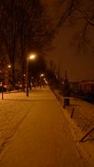 Winter in Amsterdam (Kirsteeen) Tags: winter white snow amsterdam lamppost 2010 weesperzijde winterinamsterdam