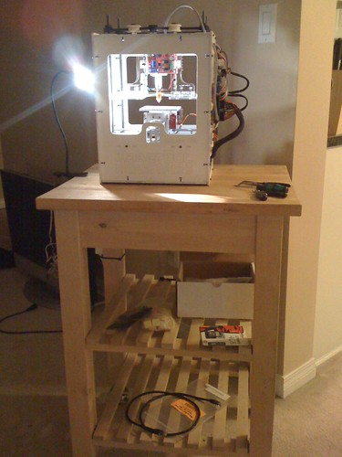 Now, THIS is a MakerBot Cart