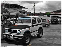 Suzuki SJ410 Turbo Modification (sam4605) Tags: car 4x4 samsung turbo malaysia borneo sj vehicle zook santana samurai suzuki katana sabah minicar jimny suks suzukijimny zuk s760 sj410 sabahborneo minisuv jimnyturbo ja11 sam4605 jimnymodification ja12w suzukimodification sjmodification sj410modificationcustomjimny