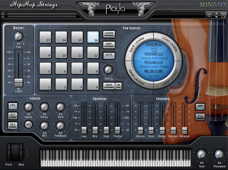 SONiVOX Releases Playa Hip Hop Strings at Namm Show