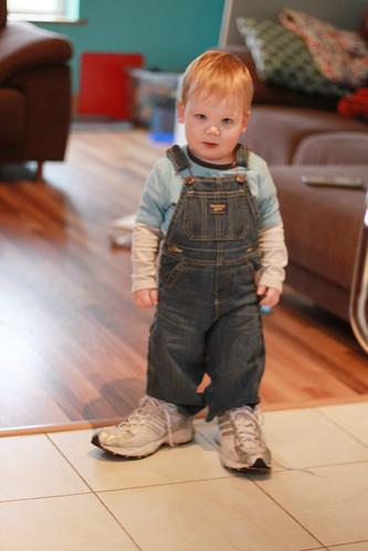 Wearing Mummy's Shoes (8)b