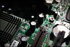 Macro Computer Photos (JWPhotowerks) Tags: macro digital computer cpu motherboard ram processor circuitboard computerparts
