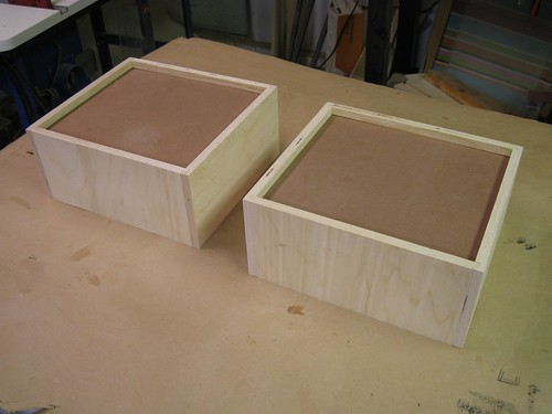 glued-up drawer box bottoms