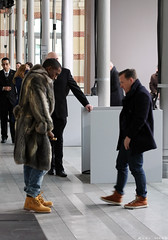 Kanye West & The Sartorialist (Karl Hab) Tags: show new paris cold west fashion rose fur louis amber january nike hype karl week mode vuitton aw 104 hab 2010 the dor menswear garance kanye sartorialist montaingnestreet