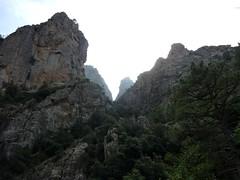 Près du départ du canyon de la Vacca, le couloir du Grand Ravin N des Ferriate