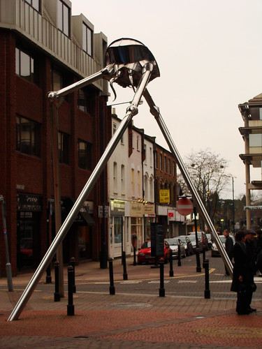 war of the worlds alien tripod. Striding alien tripod from HG