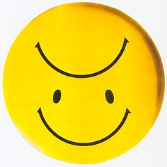 Topsy-turvy (fillzees) Tags: art smile face yellow circle happy sad icon symmetry round symmetrical smilie frown eclectic pictogram spherical topsyturvy ambigram emoji